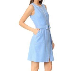 Diane von Furstenberg Sleeveless Zip-Front Dress